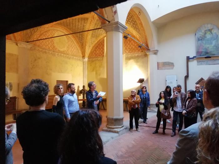 Corpi Trasparenti Opening Mattia Lapperier Giada Mazzini